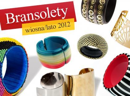 Duże bransoletki - hit sezonu wiosna/lato 2012!
