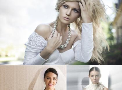 Duże naszyjniki hitem mody ślubnej 2013