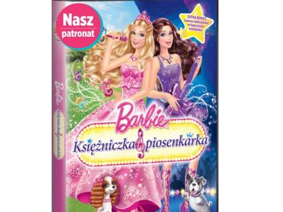 DVD Barbie księżniczka i piosenkarka