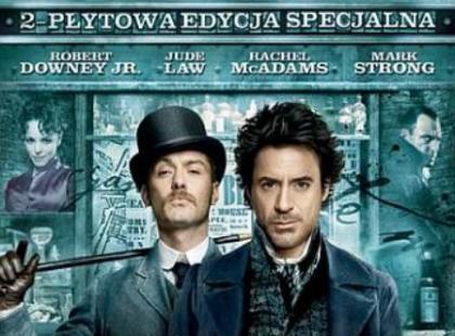 """DVD """"Sherlock Holmes"""" - We-Dwoje.pl recenzuje"""
