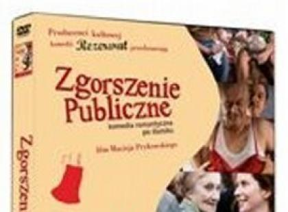 DVD Zgorszenie publiczne