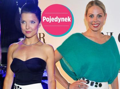 Dwie celebrytki w identycznych spódnicach. Która lepiej? [sonda]