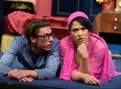 """""""Dwie pary do pary"""" - świetna komedia miłosna w reżyserii Olafa Lubaszenki. Warto!"""