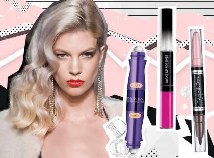 Dwustronne kosmetyki podbijają rynek! I nic dziwnego, są proste i szybkie w użyciu