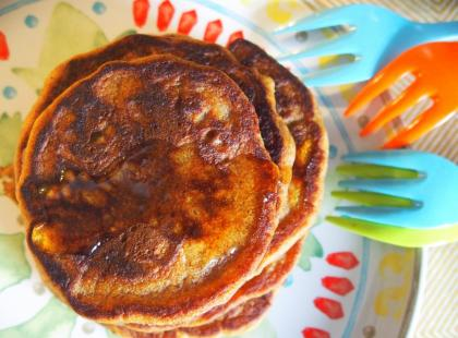 Dyniowe pancakes - Kasia gotuje z Polki.pl