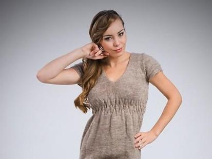 Dzianinowe sukienki od MKM 2010/2011