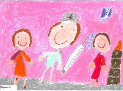 Dzieci o pielęgniarkach
