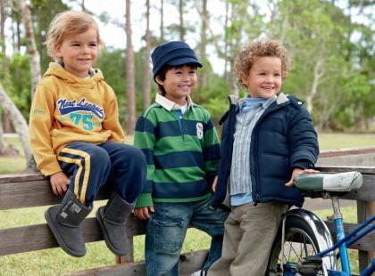 Dziecięca kolekcja Next na jesień i zimę 2009/10
