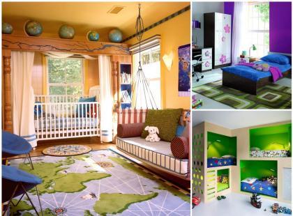 Dziecięcy pokój pełen kolorów
