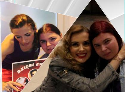 Dzięki Ewie Chodakowskiej i Halinie Mlynkovej niepełnosprawna bydgoszczanka będzie mogła pokonać schody i wyjść z domu