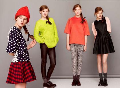 Dziewczęcy vintage w jesiennej kolekcji ASOS