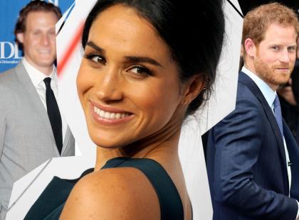 Dziewczyna Księcia Harry'ego jest rozwódką, to wiemy! Przecieramy oczy ze zdumienia, jak bardzo jej eksmąż i książę są do siebie podobni