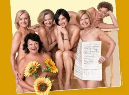 Dziewczyny (po 50-tce) z kalendarza