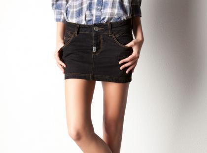 Dżinsowe spódnice na wiosnę i lato 2012
