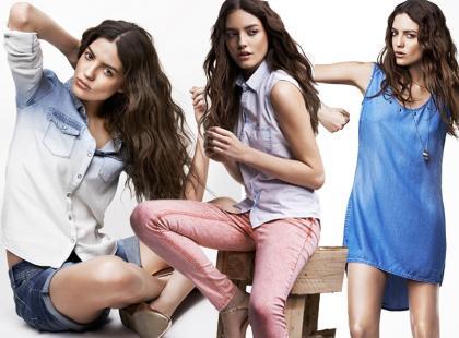 Dżinsowe stylizacje od Reserved na lato 2013