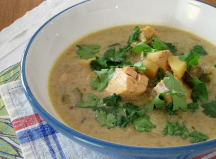 Dziś będzie ostro! Zupa rybna po tajsku