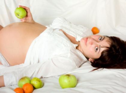 Dźwiganie w ciąży