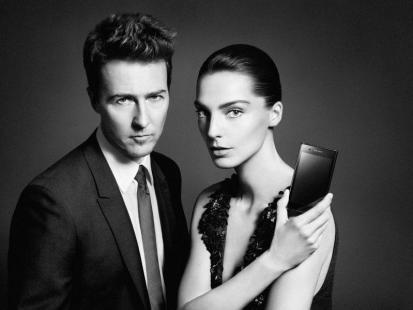 Edward Norton i Daria Werbowy twarzami telefonu PRADA 3.0 od LG