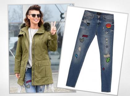 Edyta Górniak w modnych spodniach z popularnej sieciówki