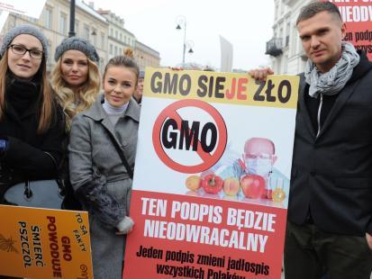 Edyta Herbuś, Maciej Zień i Doda przeciwko GMO
