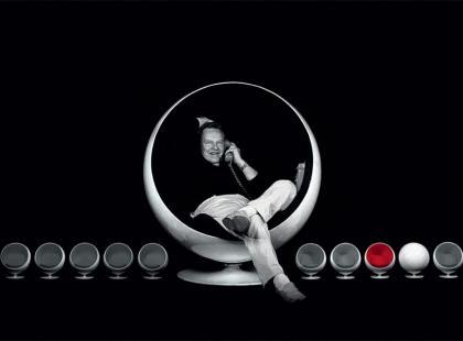 """Eero Aarnio i """"Bubble chair"""" - Królowie designu"""