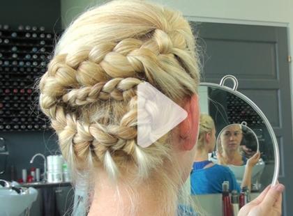 Efektowna fryzura na letnią randkę [video]
