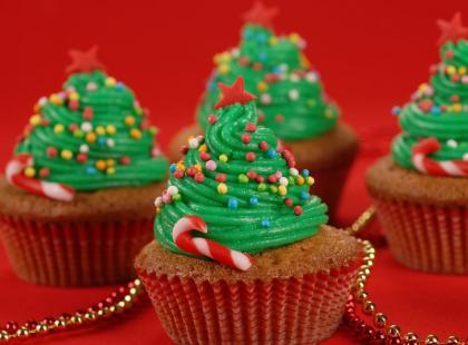 Efektowne muffiny świąteczne