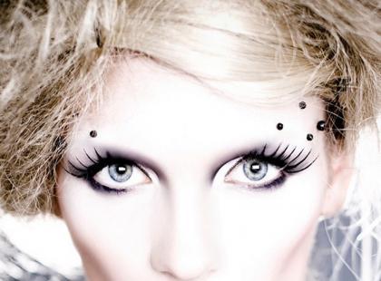 Efektowny make-up na bal i imprezę - galeria