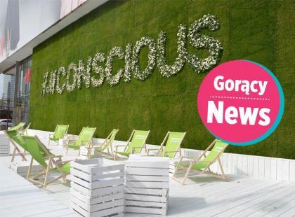 Ekologiczna instalacja H&M w centrum Warszawy