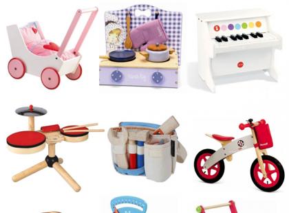Ekologiczne, drewniane zabawki- doskonały pomysł na prezent gwiazdkowy