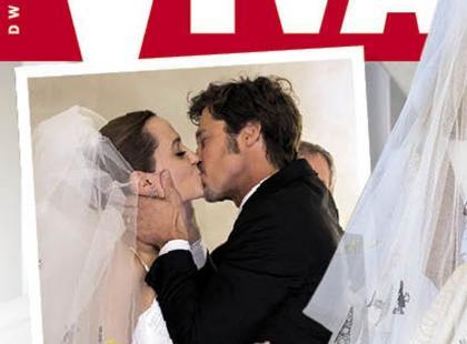 Ekskluzywna relacja z ceremonii ślubnej Angeliny Joli i Brada Pitta w najnowszej Vivie!
