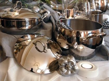 Ekskluzywne włoskie naczynia kuchenne