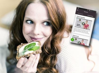 Eksperci Instytutu Żywności i Żywienia stworzyli darmową aplikację, która pomaga zdrowo się odżywiać