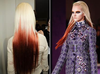 Ekstremalne ombre hair!