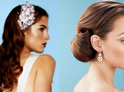 Eleganckie fryzury ślubne