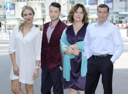 Eleganckie gwiazdy na planie nowego serialu