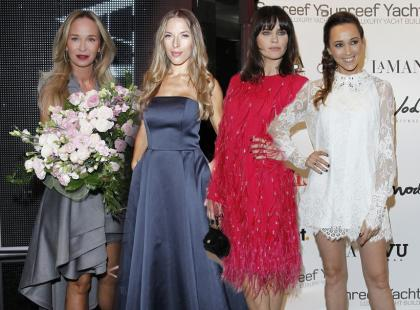 Eleganckie i stylowe gwiazdy na pokazie La Manii