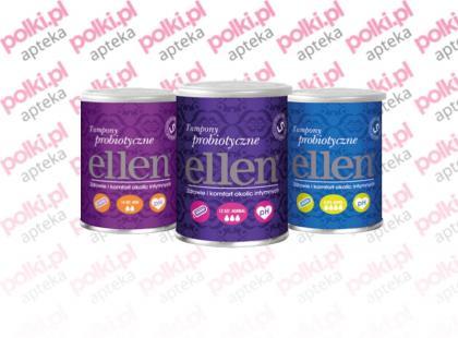 Ellen - tampony probiotyczne