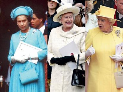 Elżbieta II - Kolory królowej