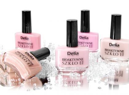 Emalie do paznokci z bioaktywnym szkłem - Delia Cosmetics