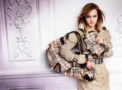 Emma Watson ponownie twarzą Burberry