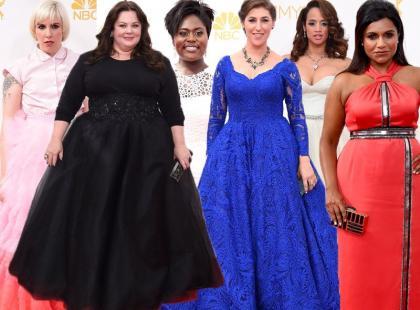 Emmy Awards 2014: moda w rozmiarze XL