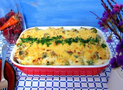 Enchiladas z kurczakiem i białą fasolą - Kasia gotuje z Polki.pl [video]