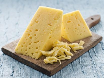 Energetyczny żółty ser