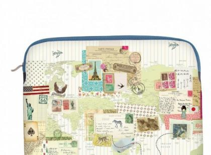 Etui na laptop Bon Voyage - Disaster Designs