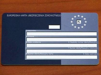 Europejska Karta Ubezpieczenia Zdrowotnego - gdy wyjeżdżasz za granicę