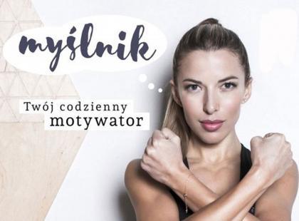 """Ewa Chodakowska i jej książka """"Myślnik. Twój codzienny motywator"""""""