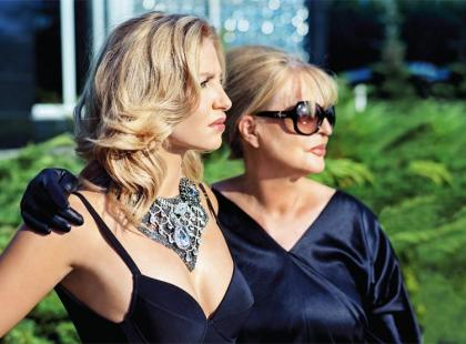 Ewa Morelle i Agnieszka Frykowska