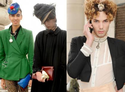 Faceci z Fashionweeków - nienormalni czy genialni