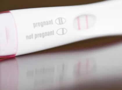 Fałszywy wynik testu ciążowego?